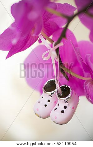 Tiny decorative collectible shoes