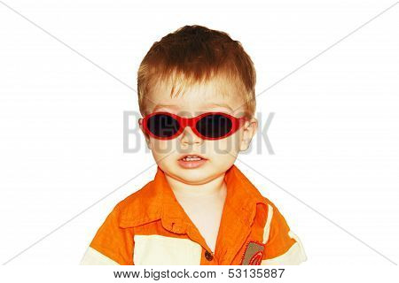 Boy In Sunglasses.