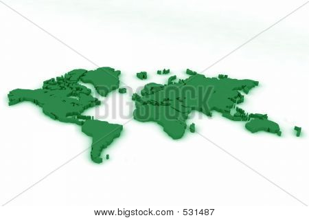 World Map Flat4