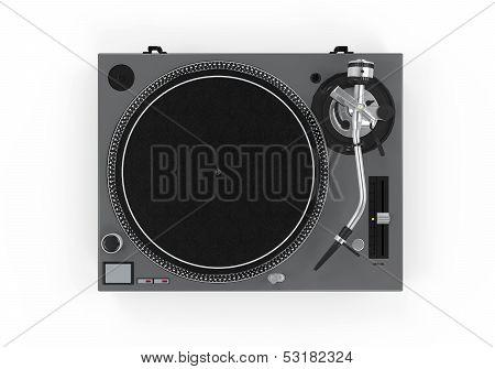 DJ Turntable Isolated