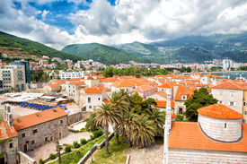Old Part Of Budva Town
