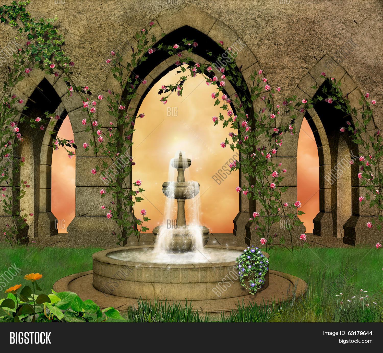 Medieval Garden Image & Photo (Free Trial) | Bigstock