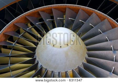 Aircraft Turbine Detail