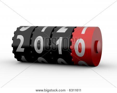 2010 Odometer