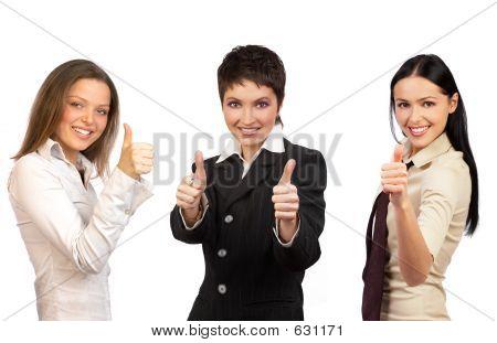 Frauen und Erfolg im Geschäft