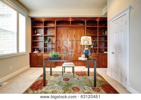 Office Room Interior.