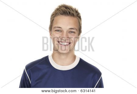 Cheerful 16 Year Old Boy