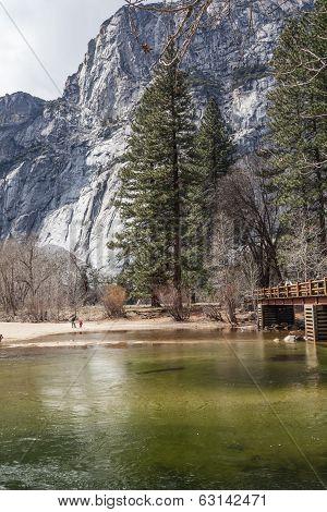 Mercedes River At Yosemite II