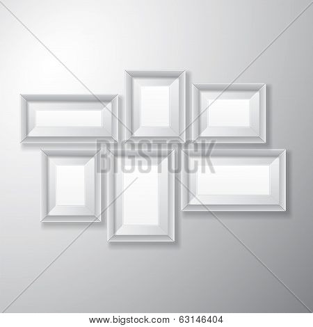 Picture Frames White Variety