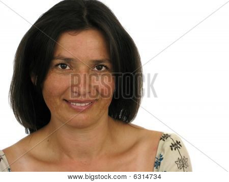 Beautiful Happy Adult Woman