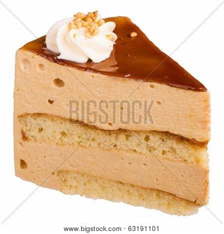A Piece Of Mousse Cake