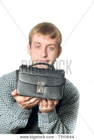 Business Offer - Man With Handbag
