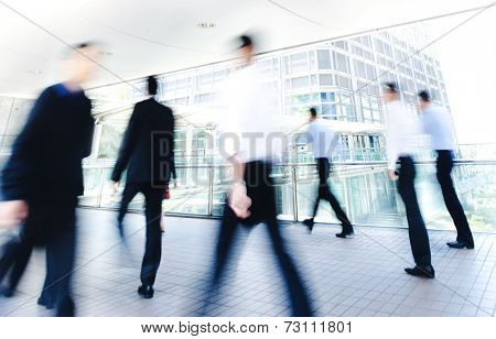 Business People in Asia, Hong Kong.