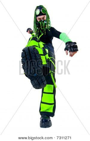 Angry Cyber Goth Guy