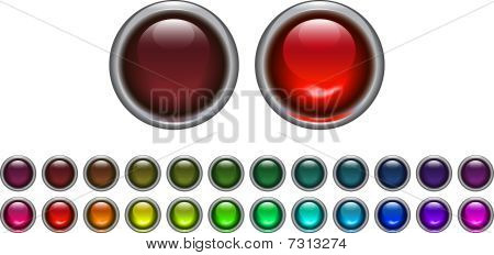 On_off_button_set
