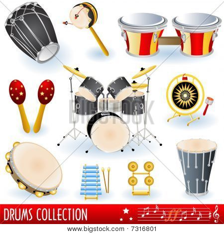 Drums music collection