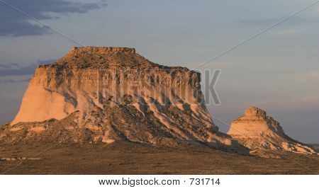 Sunset Over Pawnee Buttes