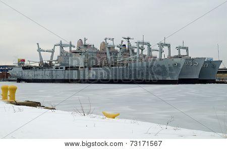 U.S. Navy Amphibious Cargo Ships