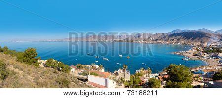 La Azohia beach Murcia in Mediterranean sea Spain