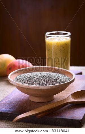 Chia Seeds with Mango Chia Juice