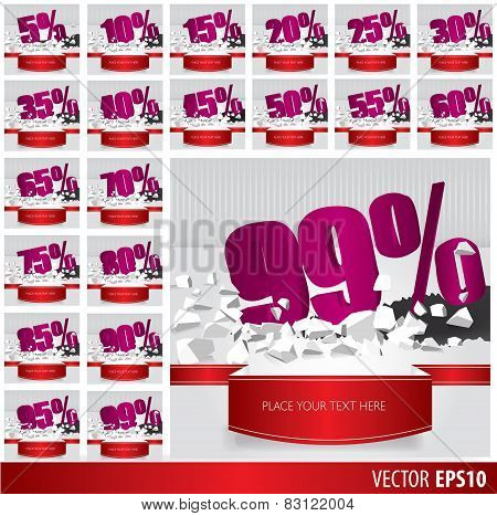 Purple Collection Discount  5  10 15 20 25 30 35 40 45 50 55 60 65 70 75 80 85 90 95 99  Percent  On