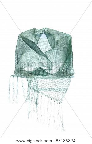 Invisible Mannequin Model Wearing Colourful Neckwear Or Scarf