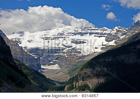 Mount Victoria In The Canadian Rockies
