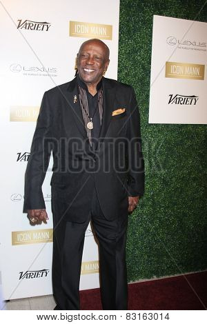 LOS ANGELES - FEB 18:  Lou Gossett Jr at the ICON Mann Power Dinner Party at a Mr C Beverly Hills on February 18, 2015 in Beverly Hills, CA