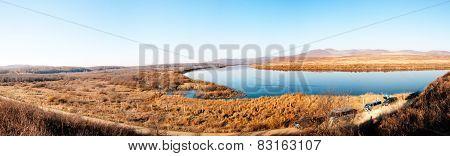 Sino-Russian border river