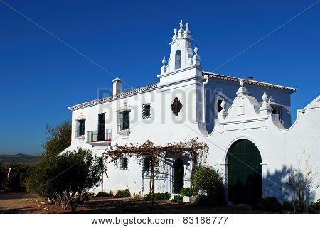Country farmhouse, Fuente del Piedra.
