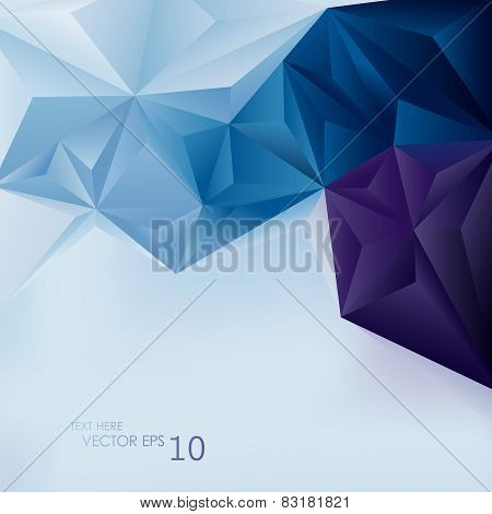 Edgy Abstract Vector Background