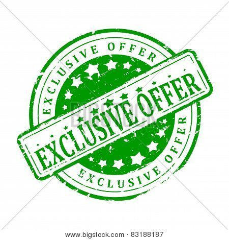 Green Stamp - Exclusive Offer