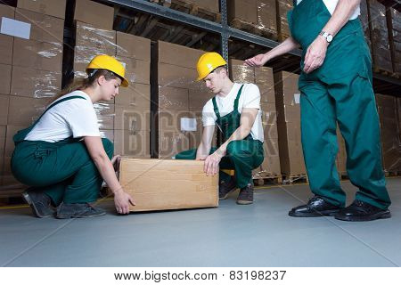 Lifting The Box