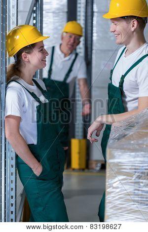 Flirting In Work