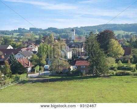 Bayerische Dorf Erling