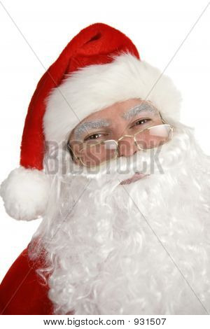 Smiling Santa Portrait
