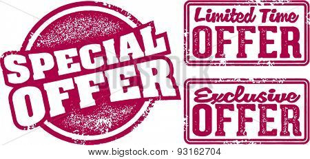 Special Offer Retail Stamps
