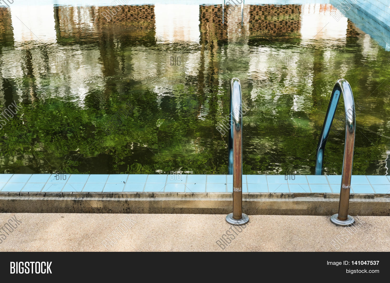 Old Abandoned Swimming Image & Photo (Free Trial) | Bigstock