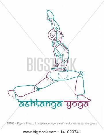 Ashtanga Yoga Logo 1