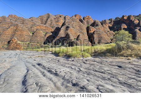 Dry Riverbed Of Piccaninny Creek, Bungle Bungles National Park