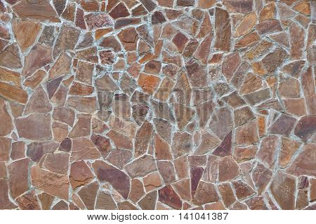 Modern Stone Wall Or Patio Floor Background Or Texture