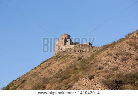 Jvari is a Georgian Orthodox monastery of the 6th century near Mtskheta - most famous symbol of georgiam christianity