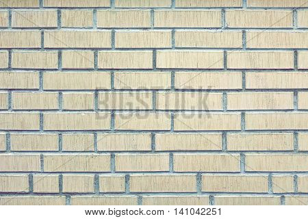 Modern White Brick Wall Grunge Background Texture