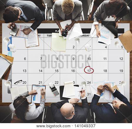 Calendar Agenda Day Deadline Event Meeting Concept