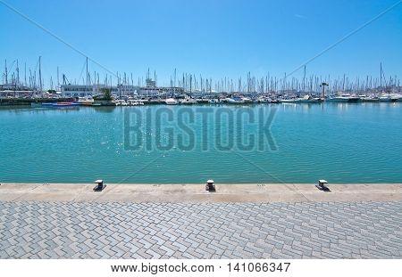 Quay Near Marina