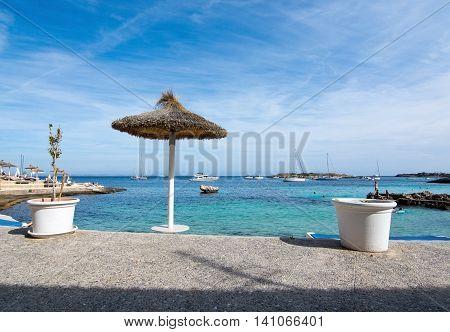 Beach In Illetes