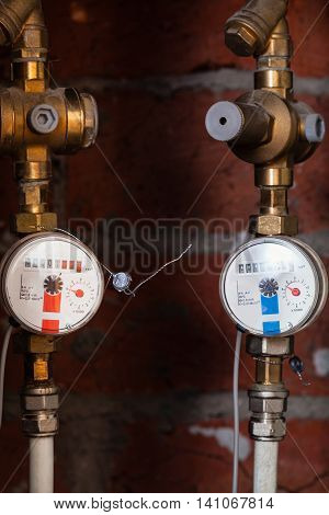 Hot And Cold Mechanical Water Meters