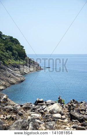 Andaman Sea, Beautiful View Point At Tachai Island(koh Ta Chai) The Beach And White Sand Beach,thail