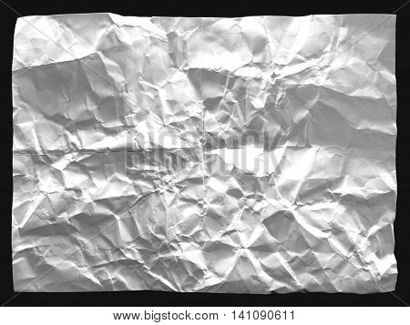 gray and grunge creased paper abstract background and texture