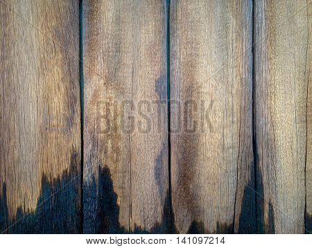 Old wooden background and texture closeup for decor